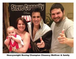 Chauncy Welliver Family Steve Connolly