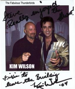 Kim Wilson Steve Connolly
