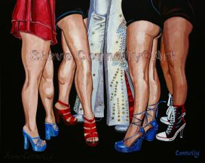 S.Connolly Art Elvis from the waist down