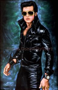 S.Connolly Self Portrait as Elvis
